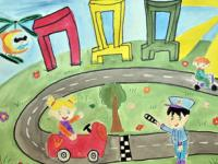 ГИБДД г. Симферополя призывает родителей заботиться  о безопасности детей на дороге